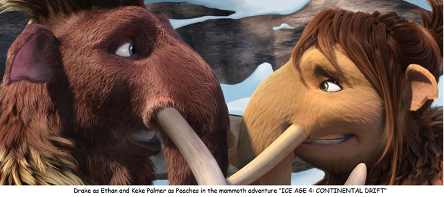 """Music's 'IT' Young Artist in """"ICE AGE 4: CONTINENTAL DRIFT"""""""